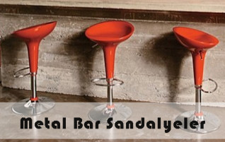 Metal Bar Sandalyeler