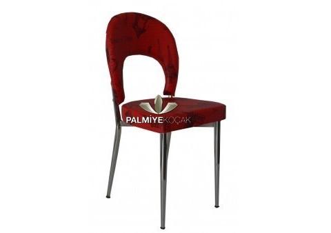Deri Metal Sandalye